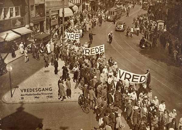 Vredesgang Den Haag 1936