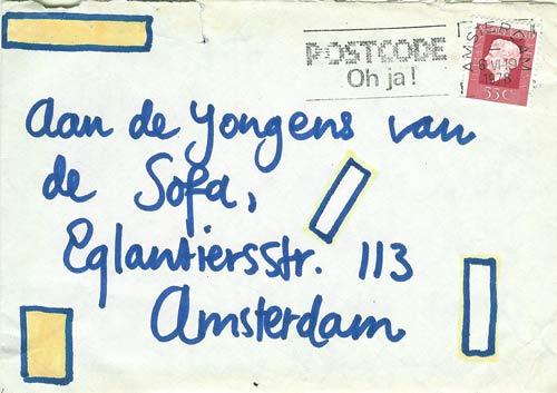 Brief van Johannes Broeder