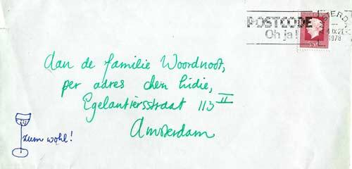 Brief van Joke Broeder