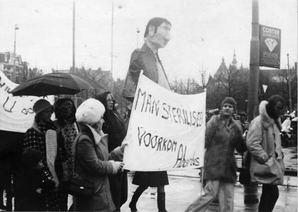 Abortusdemonstratie 1974