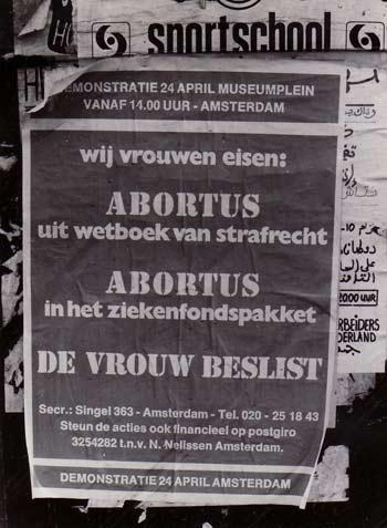 Abortusdemonstratie