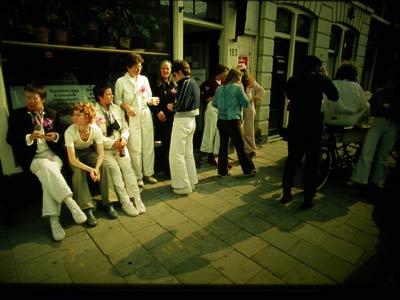 v.l.n.r.: Marieke Griffijn, Annet Planten, Marga van Rijen, Ank ten Hoopen, Hennie Henriët, Mieke Jansen, Pattie Slegers en Lidi Kleijn