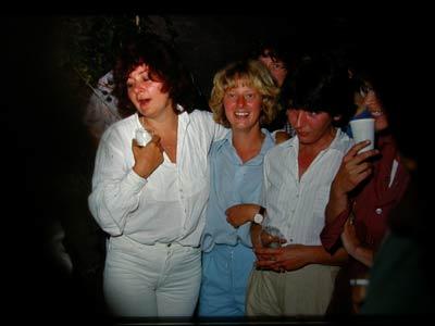 v.l.n.r. Anja Meulenbelt, Jantien, Gerda Lokman