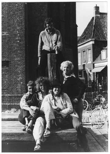 Vrouwenkamp Foudgum 1976