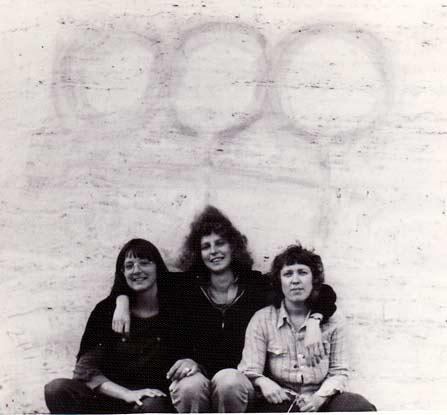 Lesbische grafitti