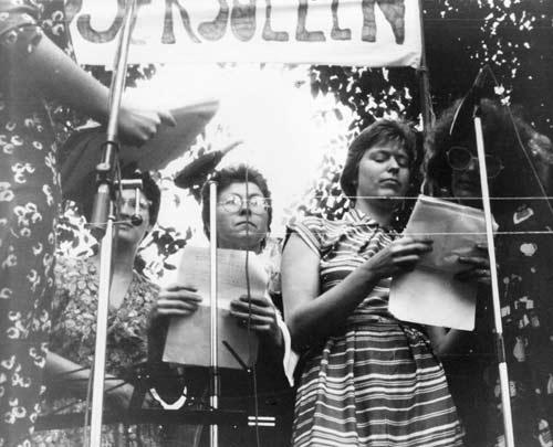 Homo-demonstratie 1977