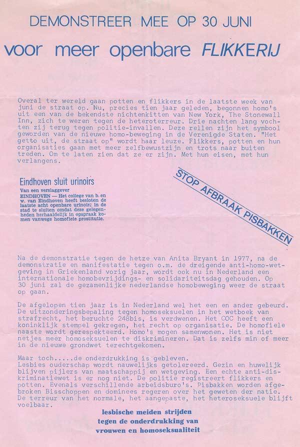 Homodemo 1979