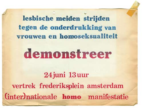 Homo-demonstratie - 24 juni 1978