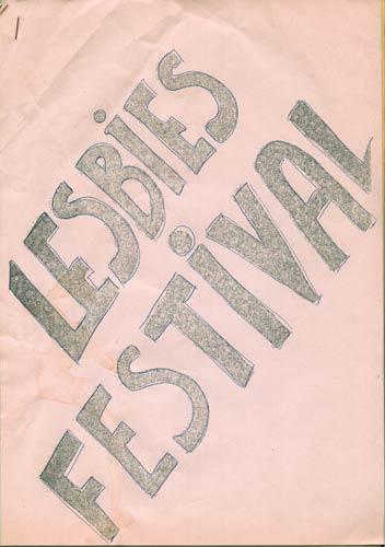 Lesbies Festival