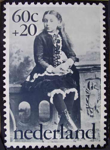 Postzegel poster