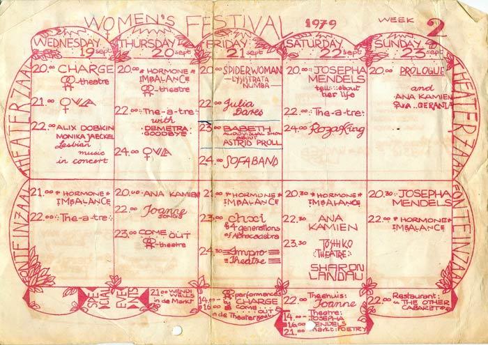 Women's Festival 1979